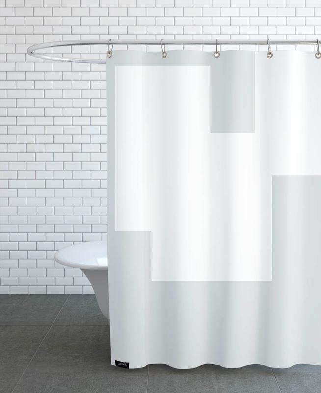 Three White Ones Shower Curtain