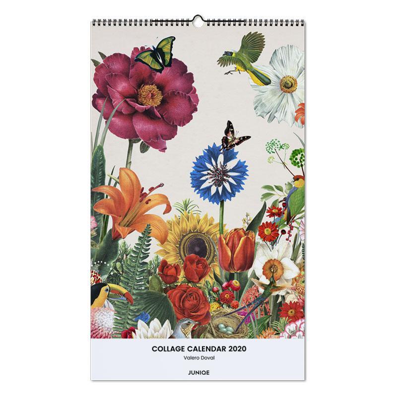 Collage Calendar 2020 - Valero Doval -Wandkalender