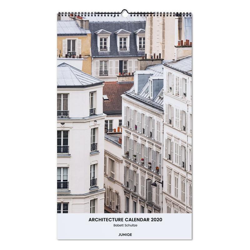 Architecture Calendar 2020 - Babett Schultze calendrier mural