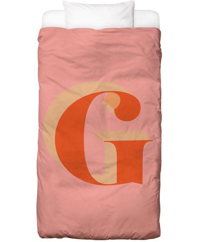 Red G -Kinderbettwäsche