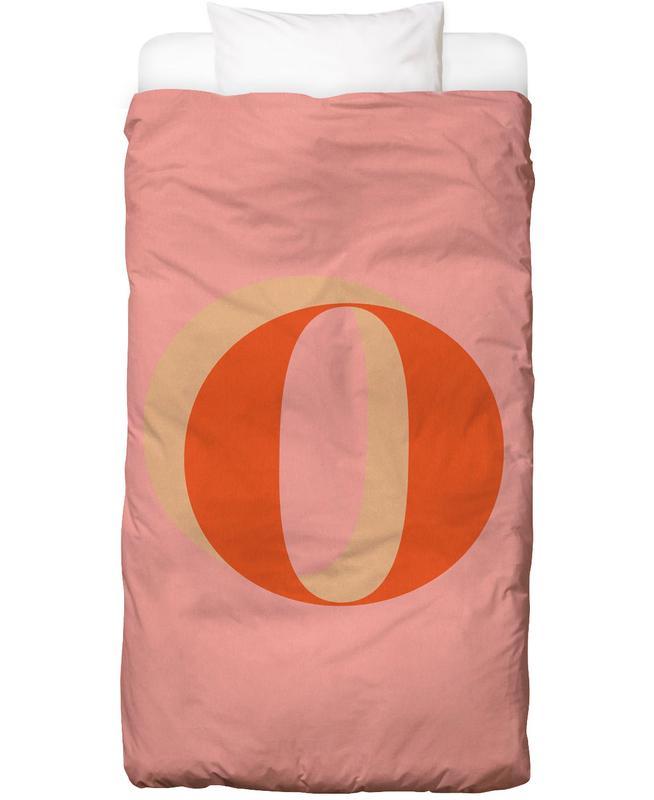 Red O -Kinderbettwäsche