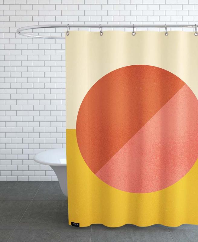 , Halves Shower Curtain