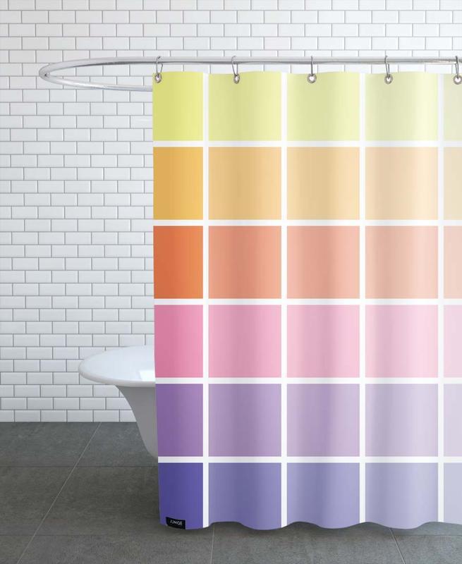 Rainbow -Duschvorhang