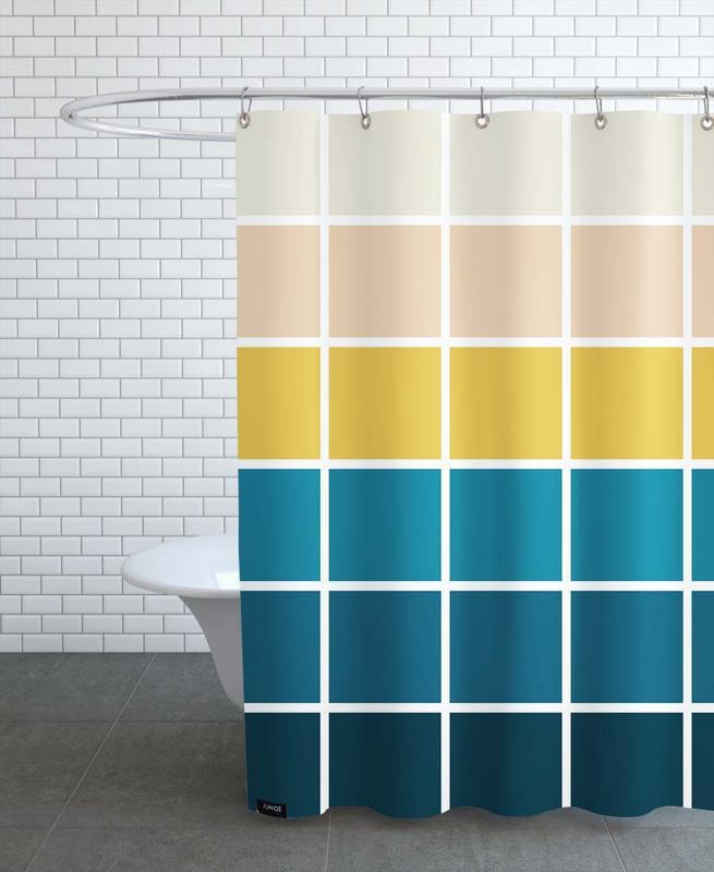 , Modern -Duschvorhang