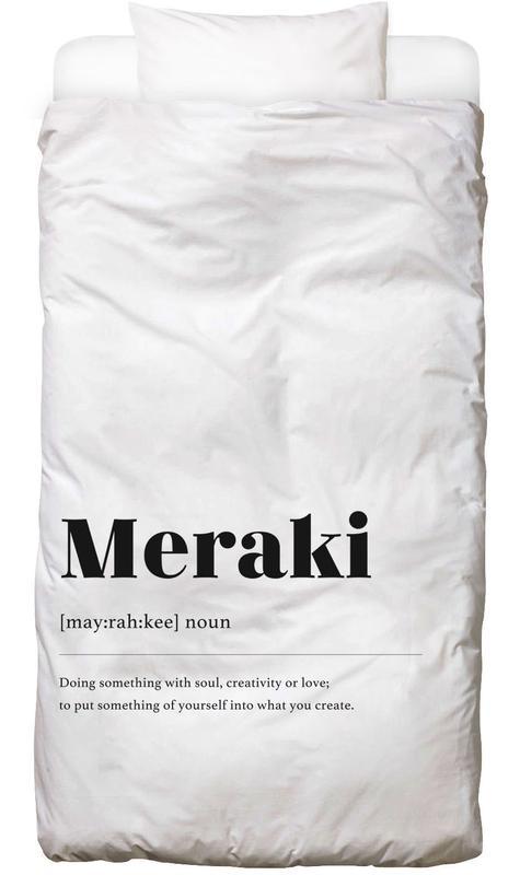 Meraki -Kinderbettwäsche