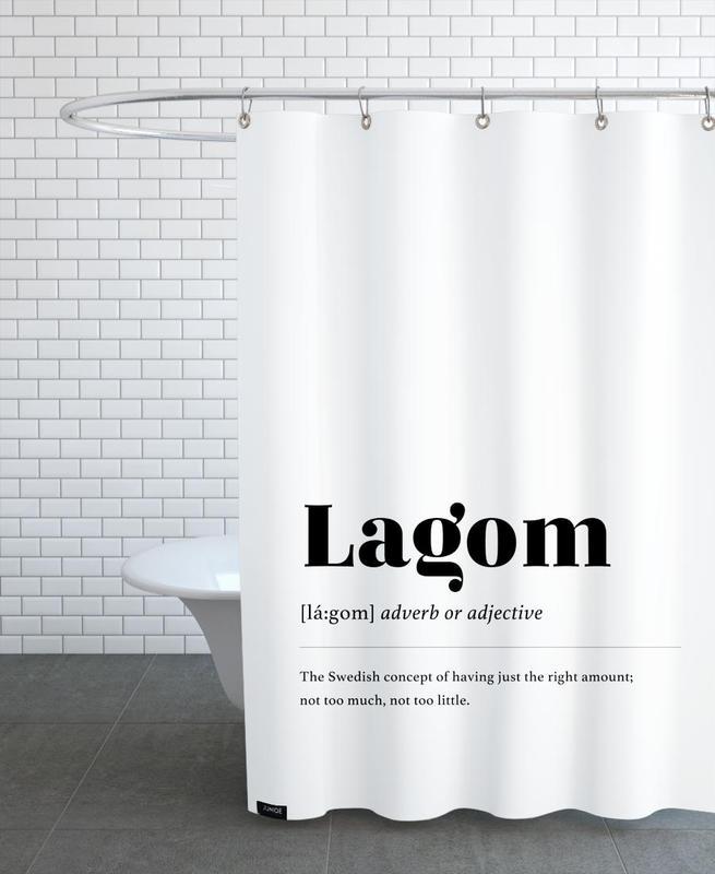 Lagom -Duschvorhang