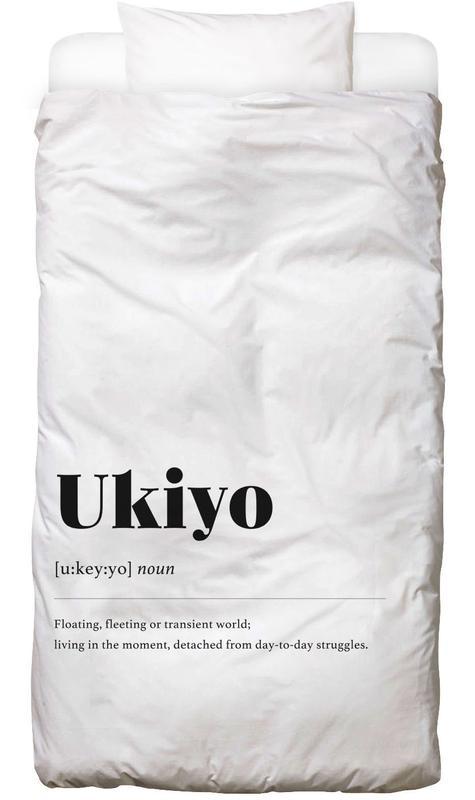 Ukiyo -Kinderbettwäsche