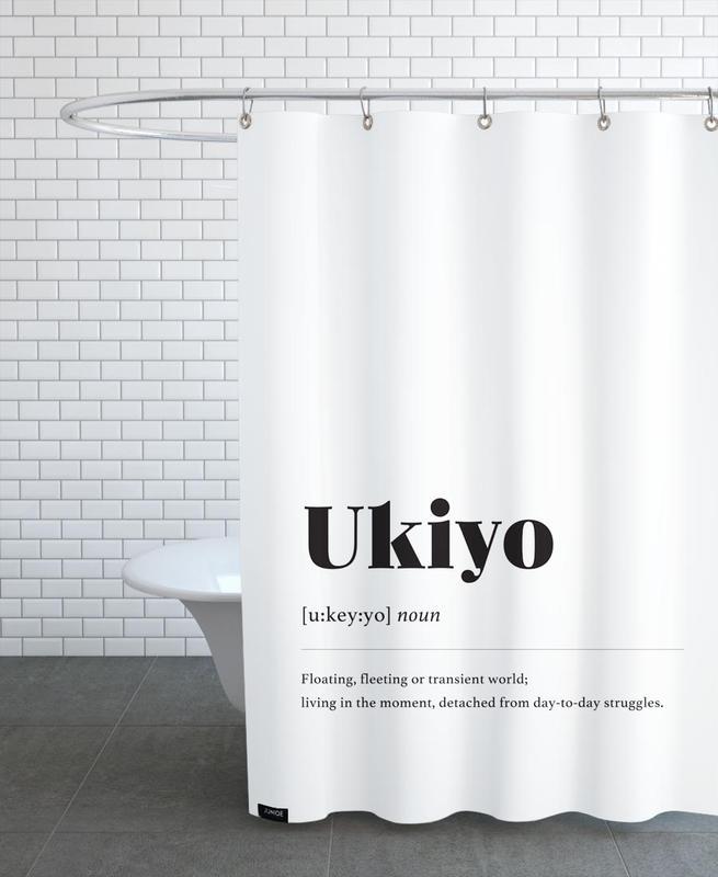 Ukiyo rideau de douche