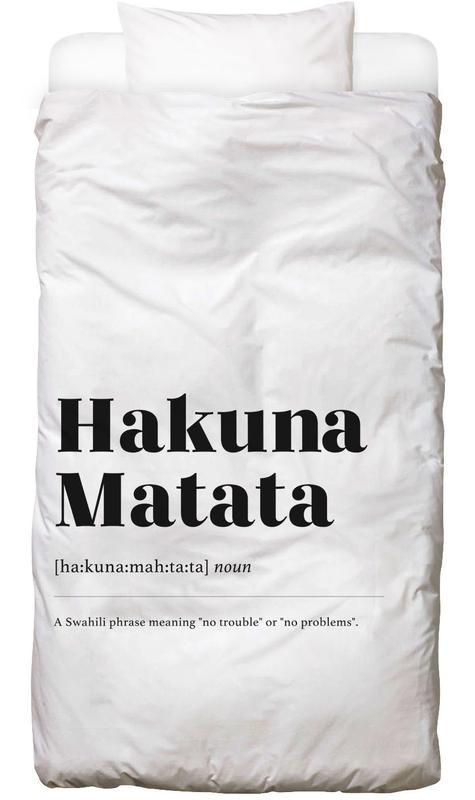 Hakuna Matata Kids' Bedding
