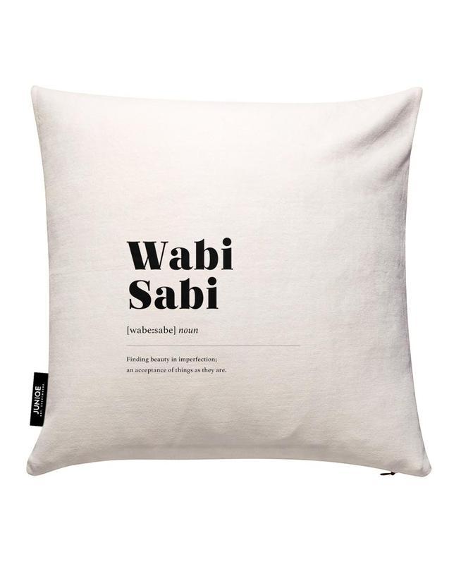 Wabi-Sabi Housse de coussin