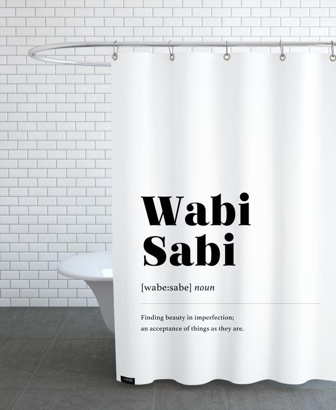 Wabi-Sabi -Duschvorhang