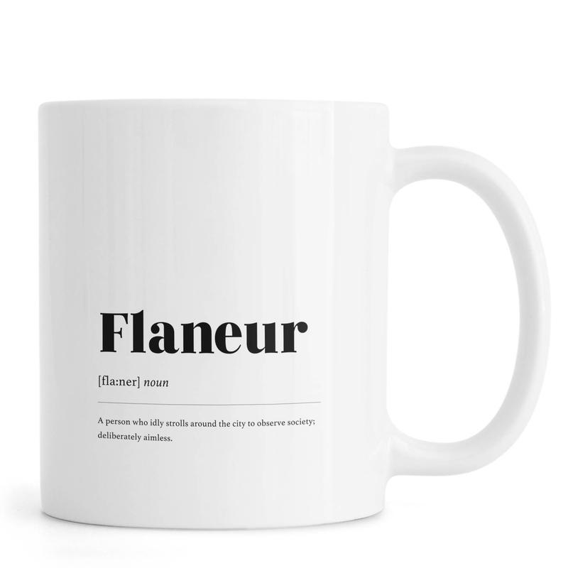 Flaneur -Tasse