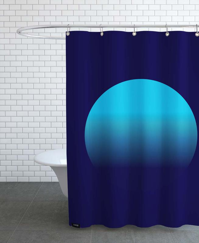 Midnight #5 -Duschvorhang