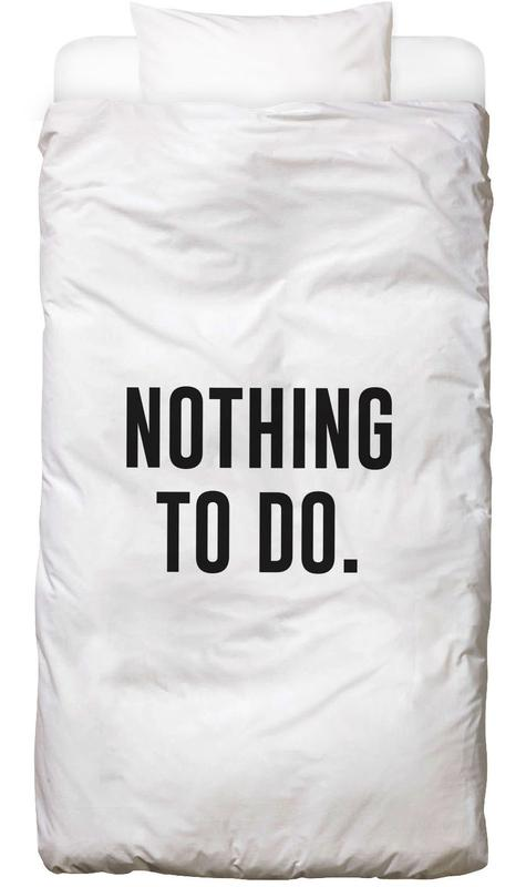 Nothing to Do Bed Linen