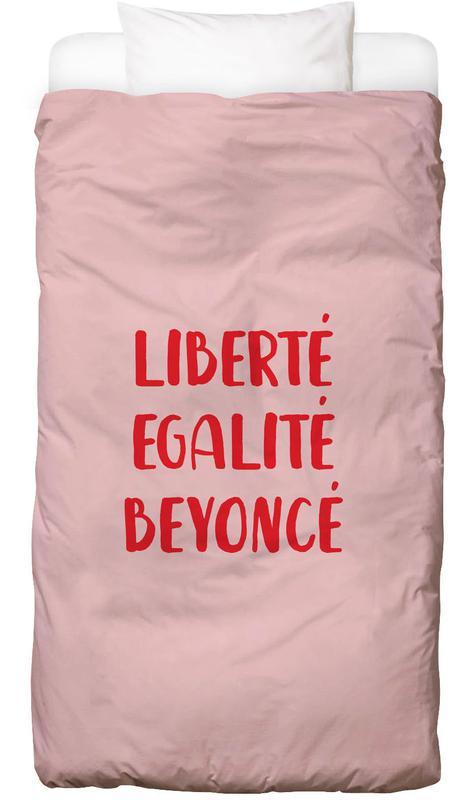 Liberté Egalité Beyoncé Linge de lit