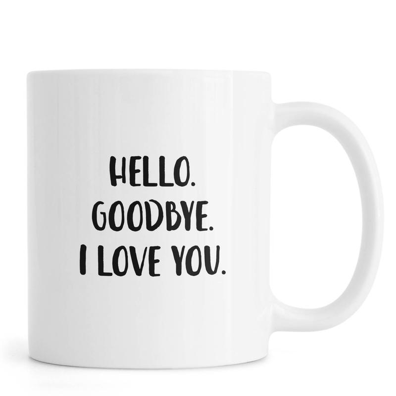 Hello Goodbye Mug