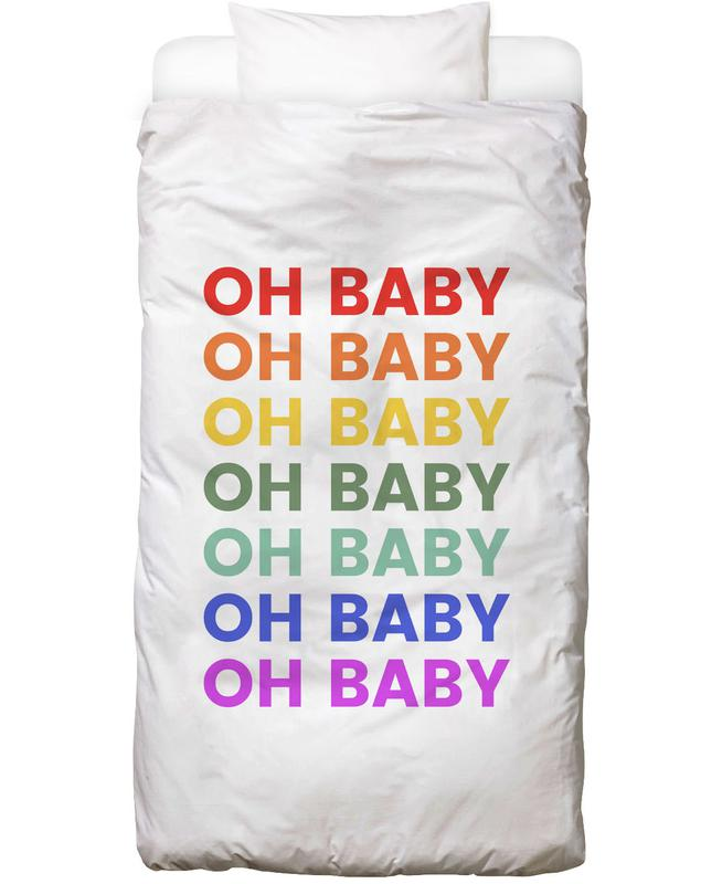 Oh Baby Rainbow Linge de lit