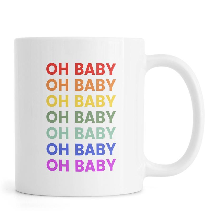 Oh Baby Rainbow -Tasse