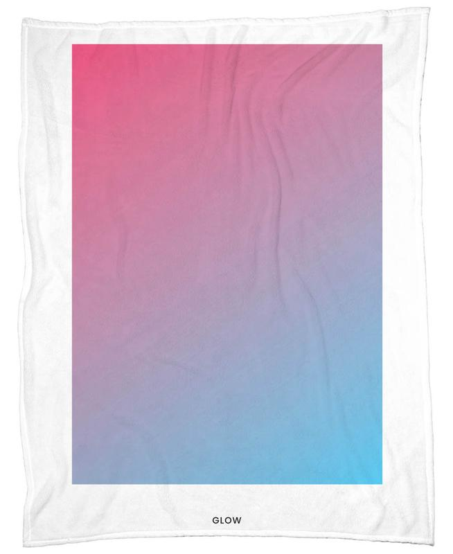 Glow #4 Fleece Blanket