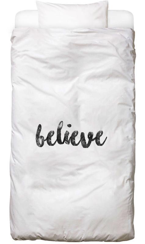 Schwarz & Weiß, Motivation, Believe Bettwäsche