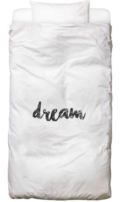 Schwarz & Weiß, Motivation, Dream -Kinderbettwäsche