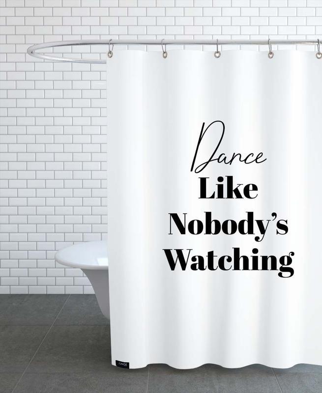 Schwarz & Weiß, Motivation, Dance -Duschvorhang