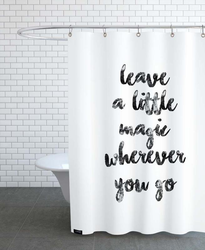 Schwarz & Weiß, Motivation, A Little Magic -Duschvorhang