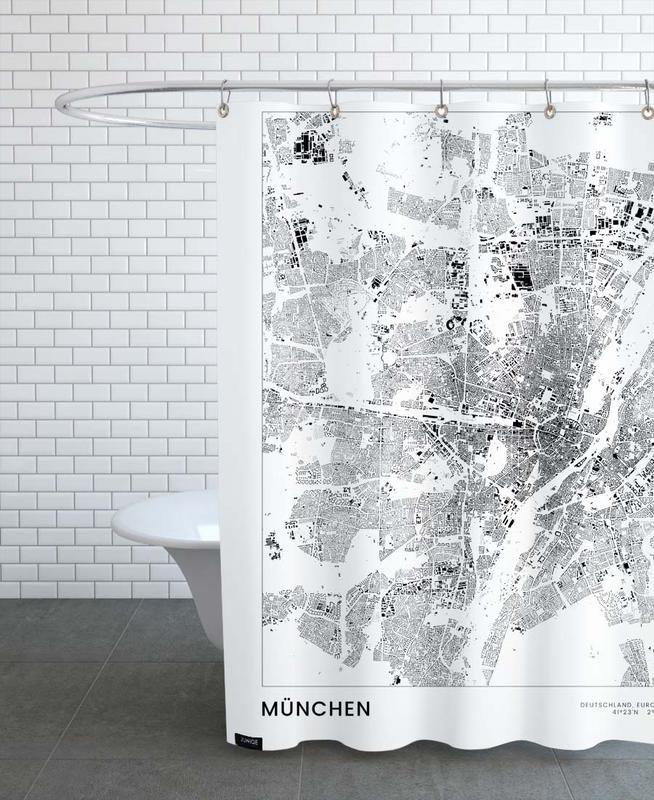 München -Duschvorhang