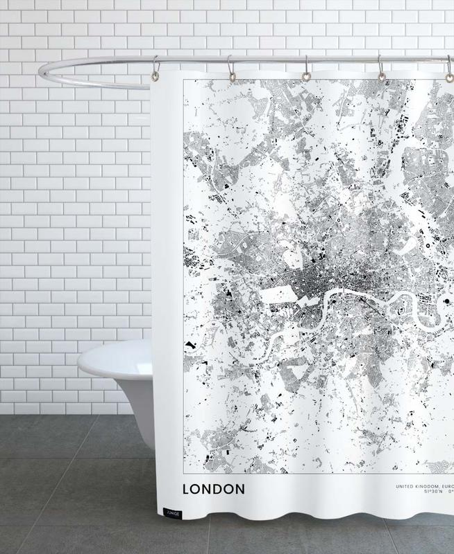 London rideau de douche