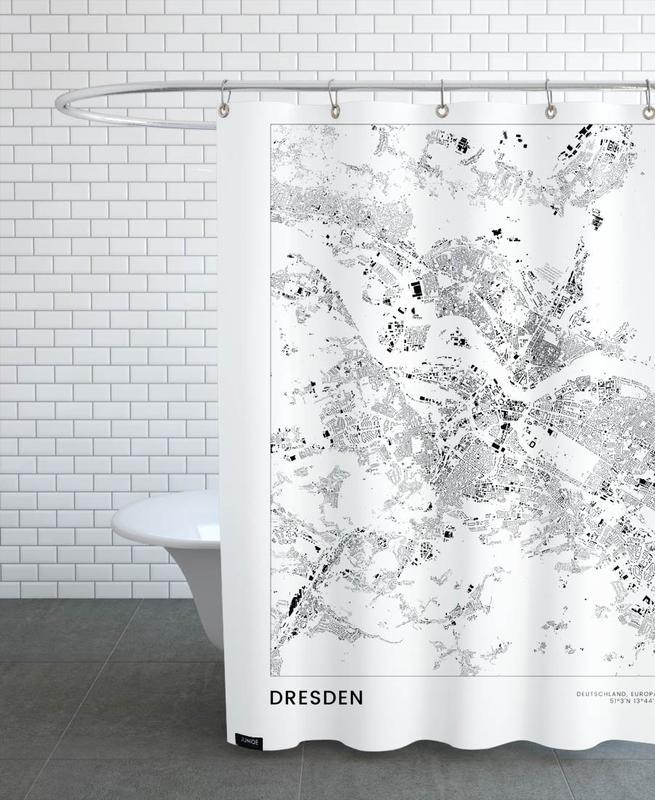 Dresden -Duschvorhang