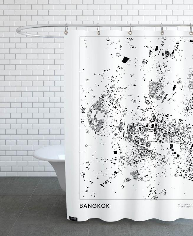Bangkok -Duschvorhang