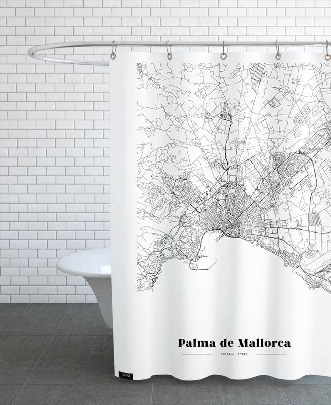 Palma de Mallorca -Duschvorhang
