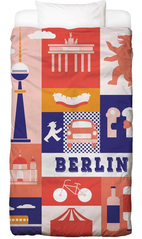 Berlin Icons -Kinderbettwäsche