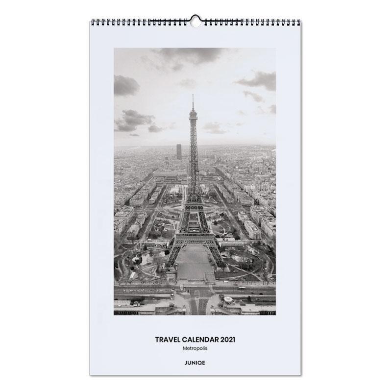 Reizen, Travel Calendar 2021- Metropolis wandkalender