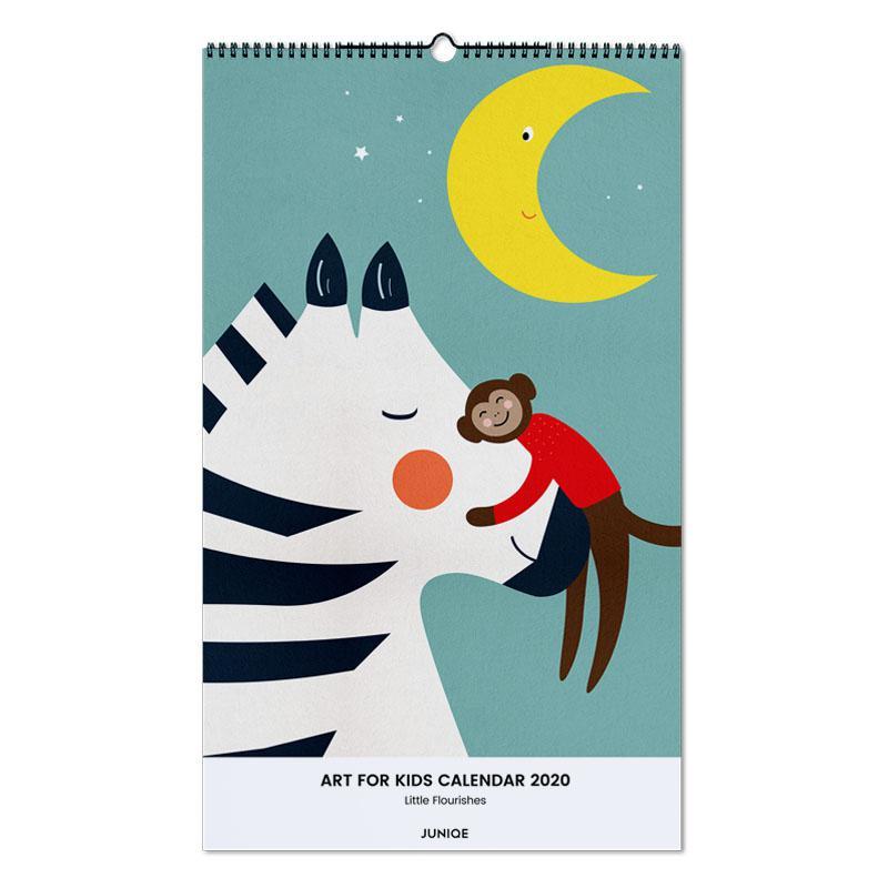 Art For Kids Calendar 2020 - Little Flourishes -Wandkalender