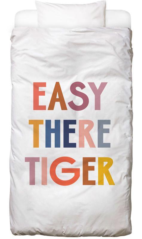 Easy There Tiger -Kinderbettwäsche