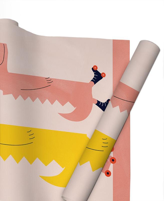 Kinderzimmer & Kunst für Kinder, Roller Crocs -Geschenkpapier