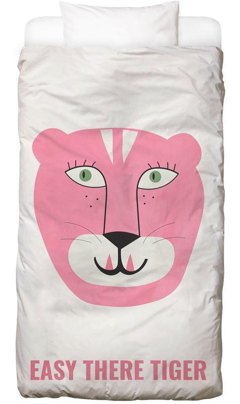 Pink Cat -Kinderbettwäsche