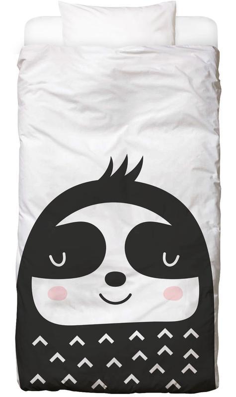 Happy Sloth -Kinderbettwäsche