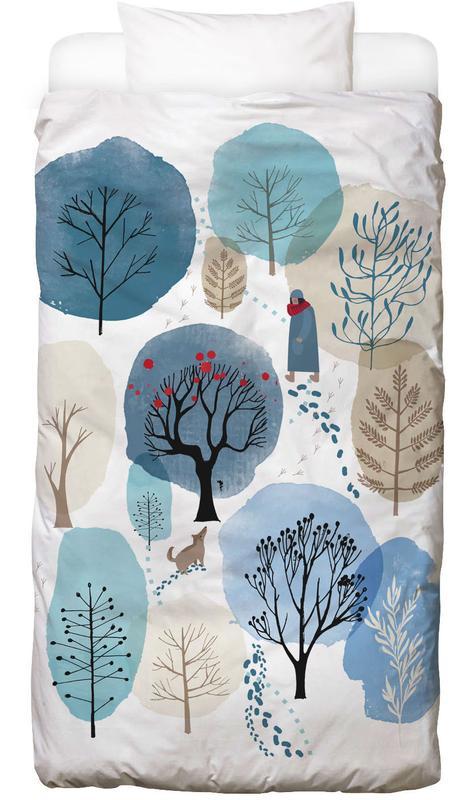 Winter Forest -Kinderbettwäsche