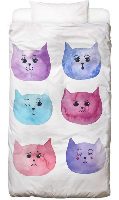 Feline Feelings -Kinderbettwäsche