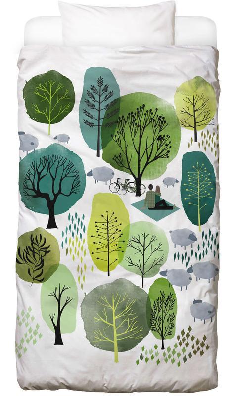 Spring Forest -Kinderbettwäsche