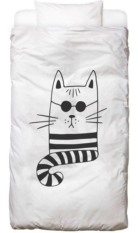 Cool Cat -Kinderbettwäsche