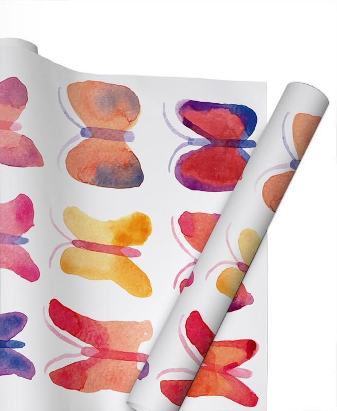 Watercolour Butterflies -Geschenkpapier