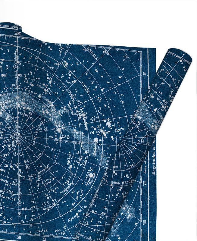 , Constellations Gift Wrap