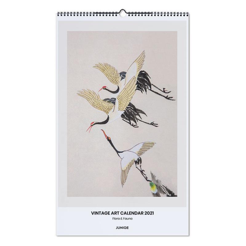 , Flora & Fauna - Vintage Art Calendar 2021 wandkalender