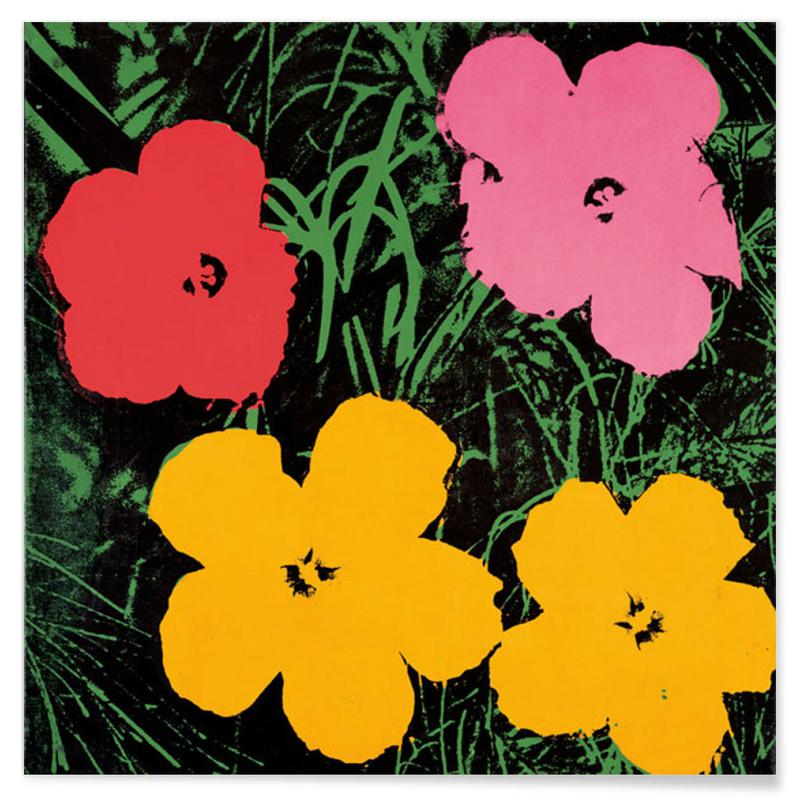Andy Warhol - Flowers, ca.1964 -Poster