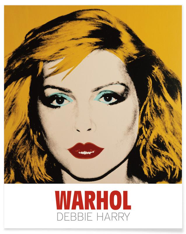 Andy Warhol - Debbie Harry, 1980 Plakat