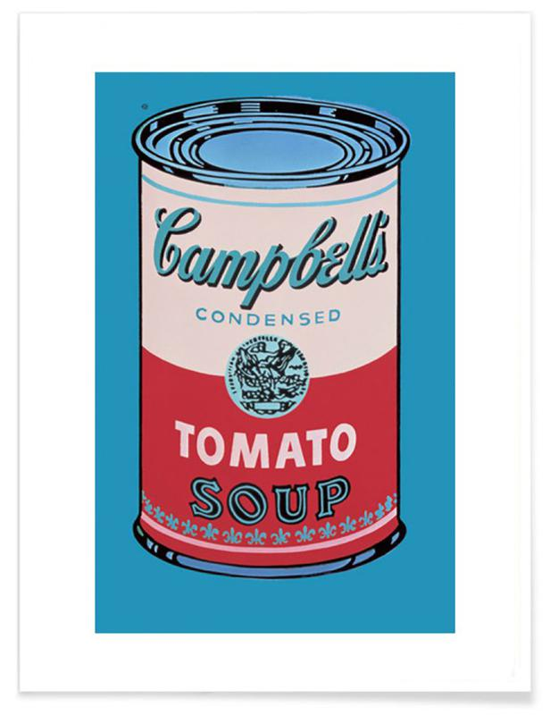 Andy Warhol - Campbell's Soup Can, 1955 Plakat