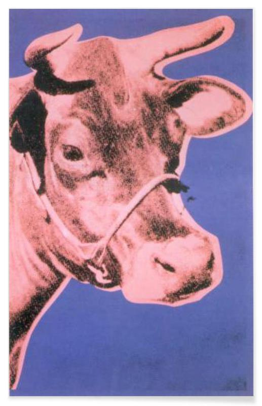 Andy Warhol - Cow, 1976 -Poster